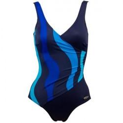 Damella Julia Basic Swimsuit - Royalblue * Kampagne *
