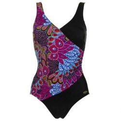 Damella Peacock Feather Swimsuit - Mixed * Kampagne *