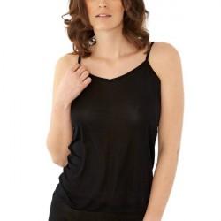 Damella Silk Top - Black * Kampagne *