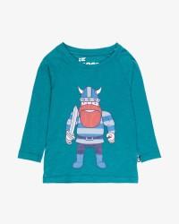 Danefæ Joe langærmet T-shirt