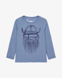Danefæ langærmet T-shirt