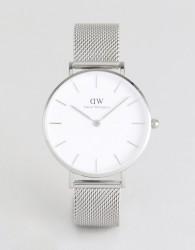 Daniel Wellington DW00100164 Mesh Watch In Silver - Silver