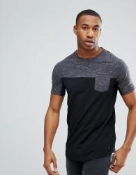 Dare 2b Colour Block Gym T-Shirt - Black