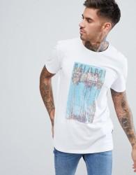 Dare 2b Miami Print T-Shirt - White