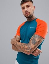 Dare 2b Tech Gym Raglan Crew Neck T-Shirt - Blue