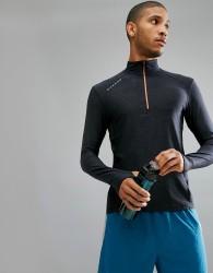 Dare2b Long Sleeve Gym Fitness Top - Black