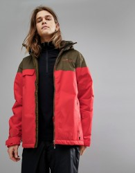 Dare2b Requisite Ii Ski Jacket - Red