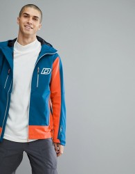 Dare2b Waterproof Colour Block Jacket - Blue