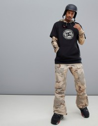 DC Shoes Asylum Snow Pant in Incense Camo - Stone