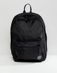DC Shoes Backpack in Black Ripstop - Black