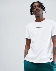 DC Shoes Craigburn T-Shirt With Chest Logo In White - White