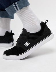 DC Shoes Heathrow Vulc Trainers In Black - Black