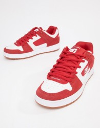 DC Shoes Manteca Trainer in Red - Red