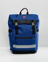 DC Shoes Rolltop Rucksack in Blue - Blue