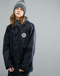 DC Shoes Snow Cash Only Coach Jacket With Hood - Black