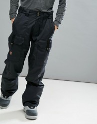 DC Shoes Snow Code Trousers With Double Knee Construction - Black