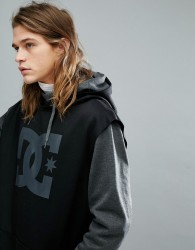 DC Shoes Snow Dryden Hoodie With Double Layered Body in Grey - Grey