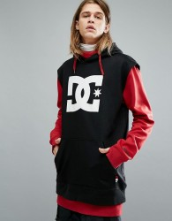 DC Shoes Snow Dryden Hoodie With Double Layered Body in Red - Red