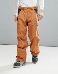 DC Shoes Snow Nomad Trousers in 30K Sympatex Fabric - Brown
