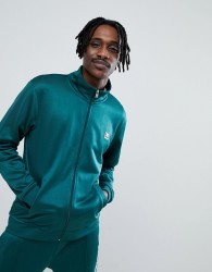 DC Shoes Track Jacket In Green - Green