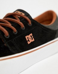 DC Shoes Trase SE Trainers In Black - Black