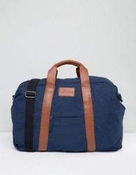 Dead Vintage Holdall In Navy - Blue