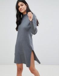 Deby Debo Angelina Jersey Dress - Grey