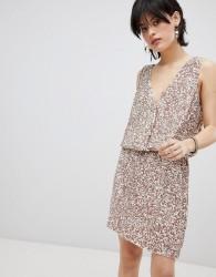 Deby Debo Horus Sequin Embellished Dress - Pink