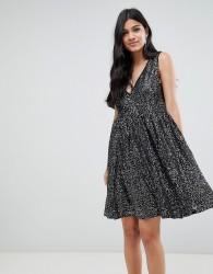 Deby Debo Techna Sequined Mini Dress - Black