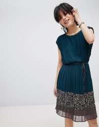 Deby Debo Verdo Tie Waist Dress - Blue