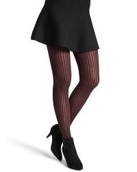 Decoy 1-Pak Modal Kabelstrik Tights til damer i Bordeaux 16856 6363