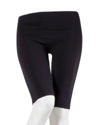 Decoy Sømløs Stretch Shorts til damer i Sort 19903 1100