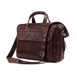 Delton Bags Brun Cario Multi Lædertaske
