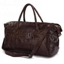 Delton Bags Brun Vintage Sportstaske