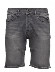 Denim Shorts Black Bleach 17-1