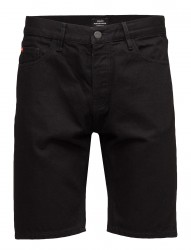 Denim Shorts Black Rinse