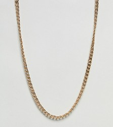 DesignB Curb Chain Necklace In Gold Exclusive To ASOS - Gold