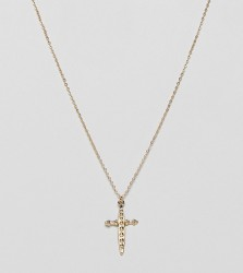 Designb London gold dagger pendant necklace - Gold