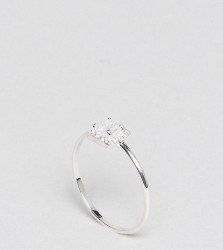 DesignB London Sterling Silver Promise Ring - Silver