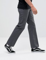 Dickies 873 Work Pant Chino In Straight Fit In Grey - Grey