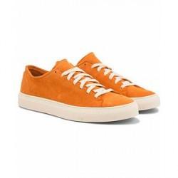Diemme Loria Unlined Low Sneaker Sun Orange Deer Suede