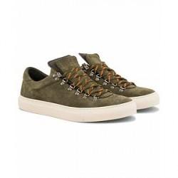 Diemme Marostica Low Sneaker Olive Deer Suede