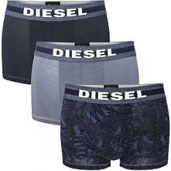 Diesel 3-pak Damien Boxer Trunks - Darkblue * Kampagne *