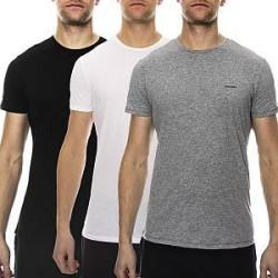 Diesel 3-pak Jake Crew Neck T-shirt - Mixed - Large