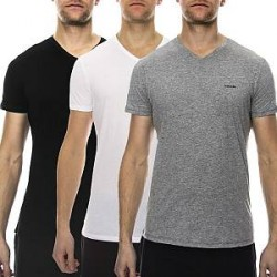 Diesel 3-pak Jake V-neck T-shirt - Mixed - Medium