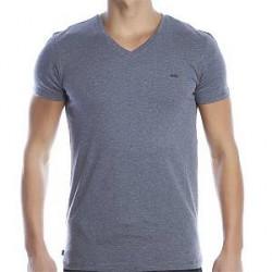 Diesel Michael V-neck T-shirt - Grey - Medium