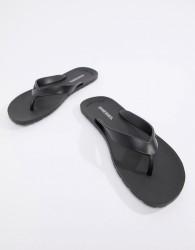 Diesel Splish Flip Flops - Black