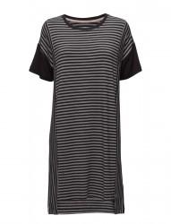 Dkny City Stripes Sleepshirt S/Sleeve
