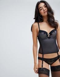 Dorina Angeline Black Corset - Black