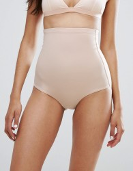 Dorina Bridget High Super Waist Beige Control Brief - Beige